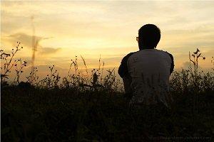 Sunset_Alone