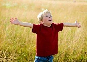 Child Worshiping