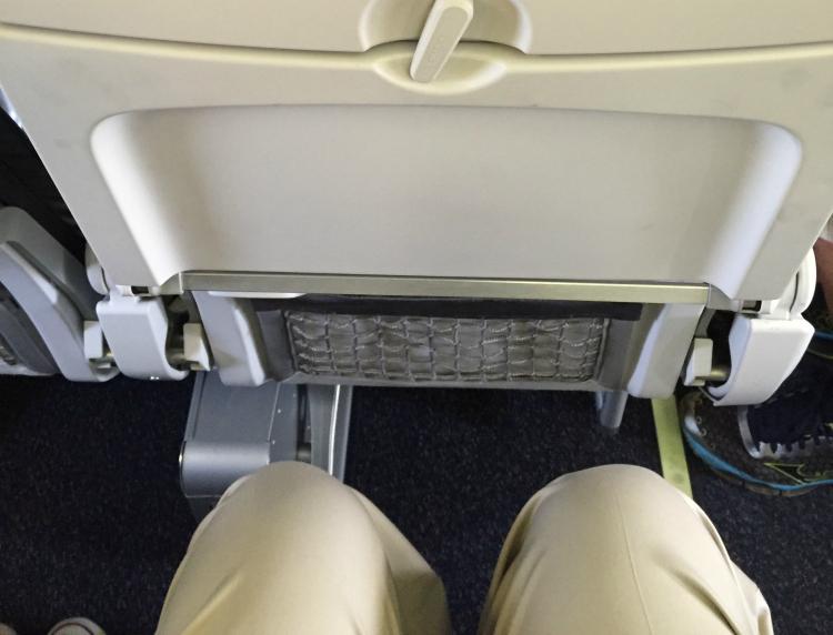knee space