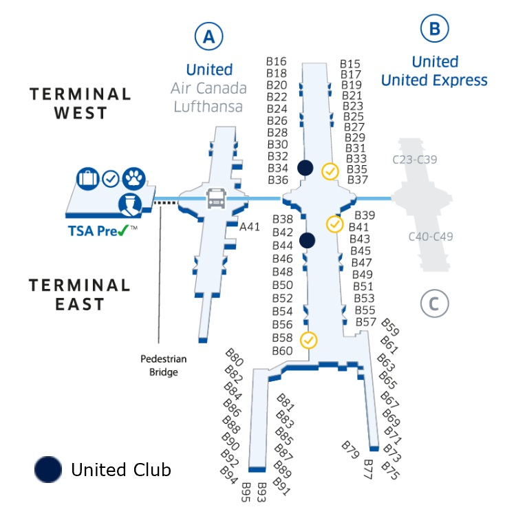 United Club Denver West Location sevenR
