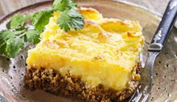 shepards pie with mashed fauxtatoes