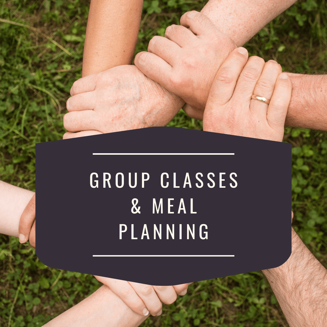 group classes and meal planning