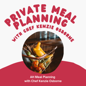 Private Meal Planning Session