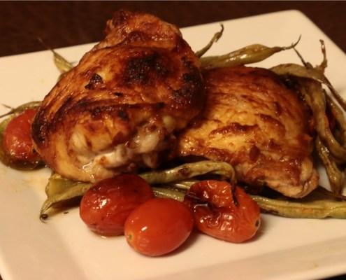 Chef Kenzie's Sheet Pan Chicken Thighs