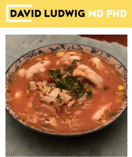 Chef Dawn's Manhattan Clam Chowder Newsletter