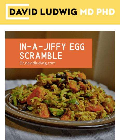 In-a-Jiffy Egg Scramble Newsletter