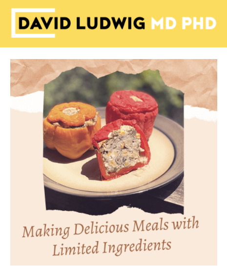 Making delicious meals with limited ingredients Newsletter