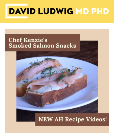 Smoked Salmon Snacks Newsletter