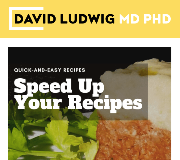 Speed Up your Recipes Newsletter