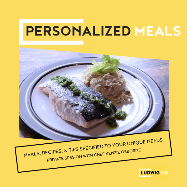 Personalized Meals Class Thumbnail
