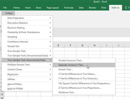 Instructions installing phstat for excel 2013 youtube.