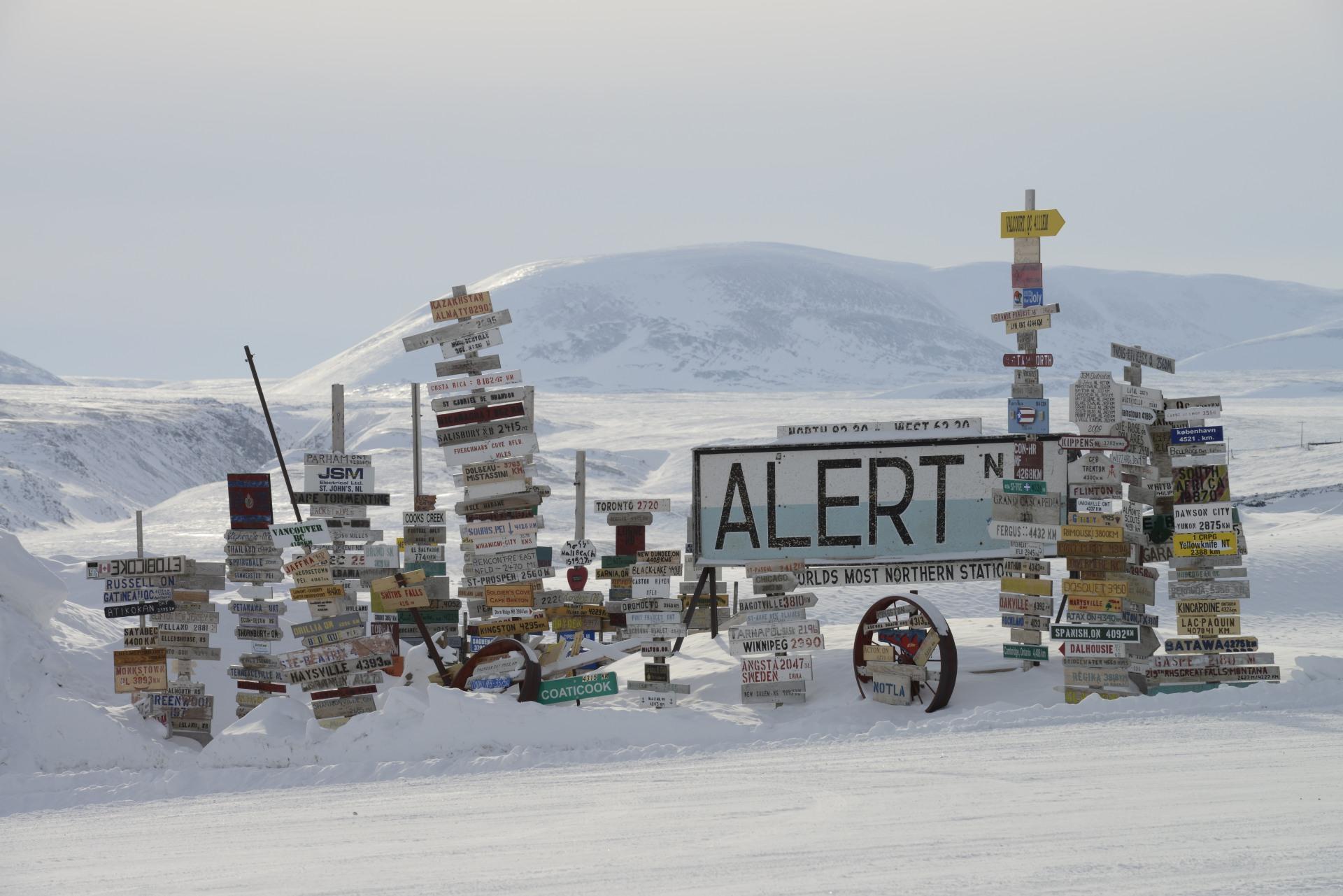 Resultado de imagen de alert station canadá