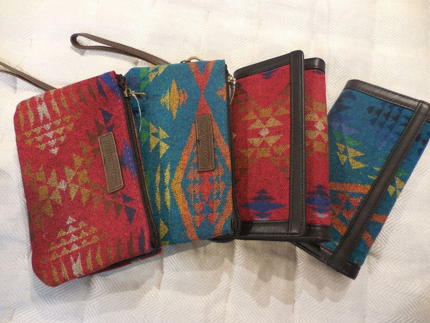 Pendleton Wristlets from Passionflower Design in Eugene, Oregon