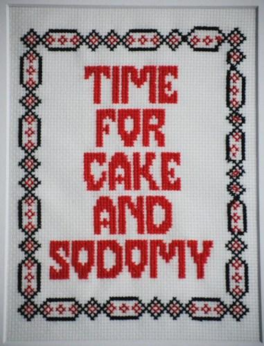 cake & sodomy