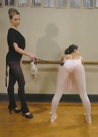spanking ballerina