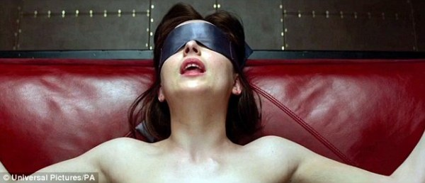 While sexual perversions are often considered to be uncommon, the success of books like Fifty Shades of Grey, which depicts sado-masochism (scene pictured), suggests otherwise. Now, a study has shown 46 per cent of people are interested in sexual behaviours considered to be deviant while a third had engaged in them