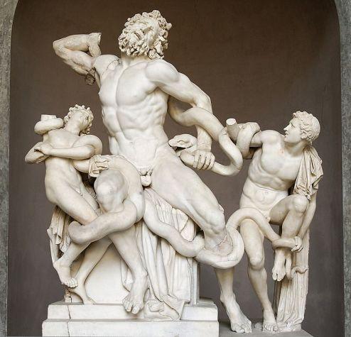Laocoön and His Sons, Greek sculpture, Vatican Museum