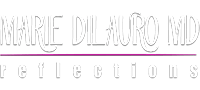 Marie DiLauro MD logo on phone