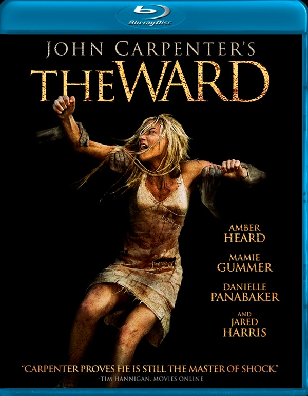 Blu-ray Art and Official Specs: John Carpenter's The Ward