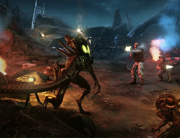 Bloody New Screenshots Arrive For Aliens: Colonial Marines