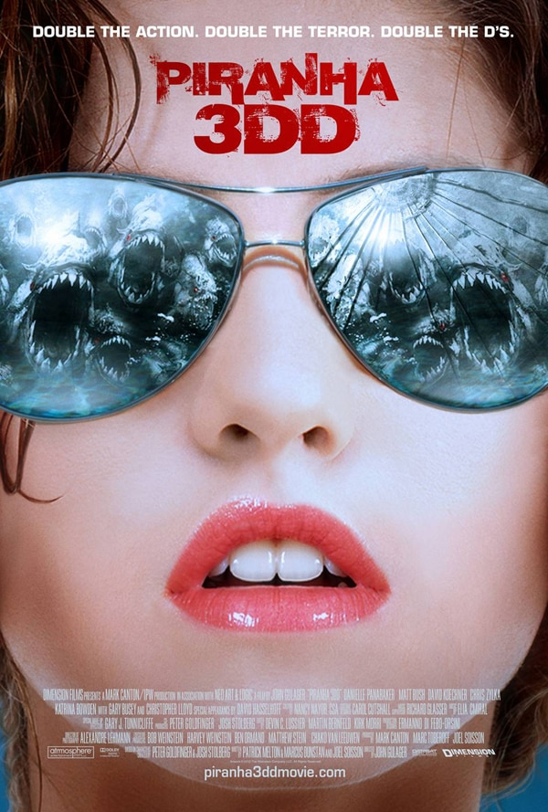 Two New  Piranha 3DD Teaser Posters Nibbling at the Net