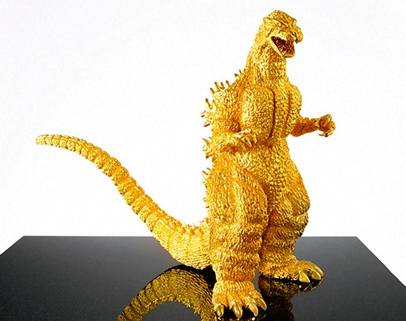 Gold Godzilla Collectible.