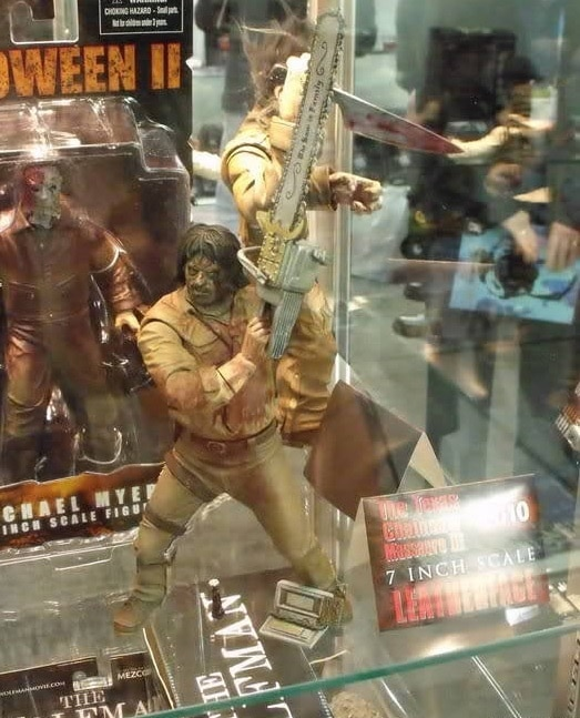 leather - 10 Awesome Horror Movie Toys That Were Never Released!