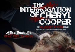 interrogationthumb - New Key Art for The Interrogation of Cheryl Cooper; Updated PollyGrind Screening Details; First Word on Algiers