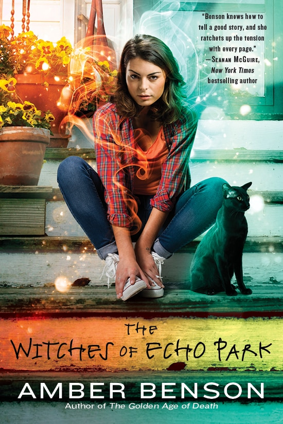 Book Cover Witches of Echo Park - Amber Benson's The Witches of Echo Park Now Available; Signing in Chicago Today!