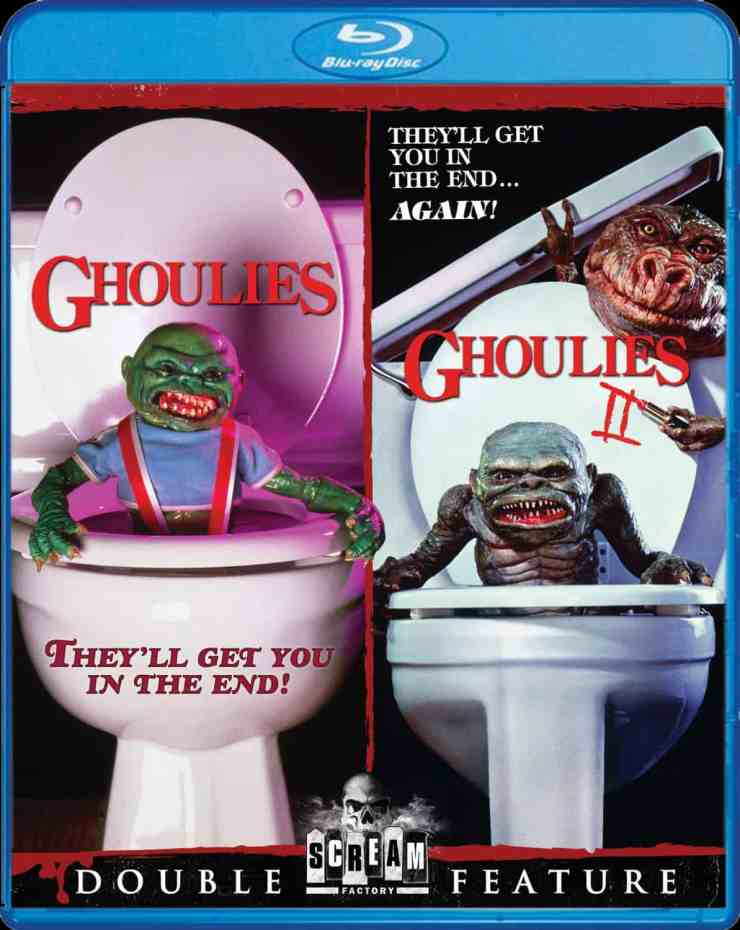 Ghoulies blu ray - The Scream Factory Unleashes Ghoulies / Ghoulies 2 Blu-ray Details