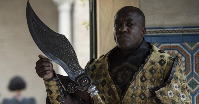 deobia oparei - Game of Thrones Actor Fights for Our Independence Day