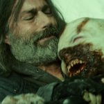 EXTINCTION still4 Patrick Matthew Fox tangles with zombie courtesy Vertical Entertainment - New Extinction Clip Enters Danger Zone