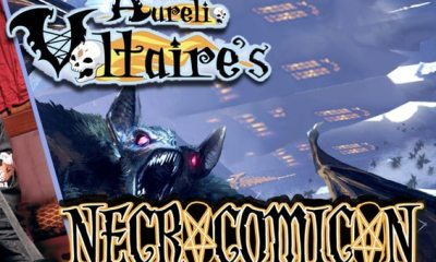 Voltaires NecroComicCons - 2015 NecroComicon Kicks Off September 18th; First Details!