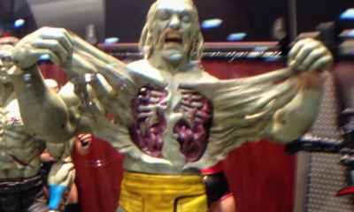 hulk - #SDCC15: Mattel Unveils Zombie Hulk Hogan and John Cena Wrestling Toys