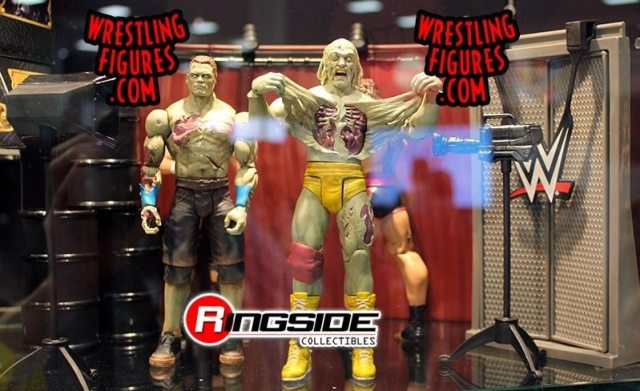 zomtoys - #SDCC15: Mattel Unveils Zombie Hulk Hogan and John Cena Wrestling Toys