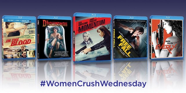 womencrushwednesday 1024x512 - Win a #WOMENCRUSHWEDNESDAY Blu-ray Prize Pack of Momentum, Everly, The Drownsman, and More!