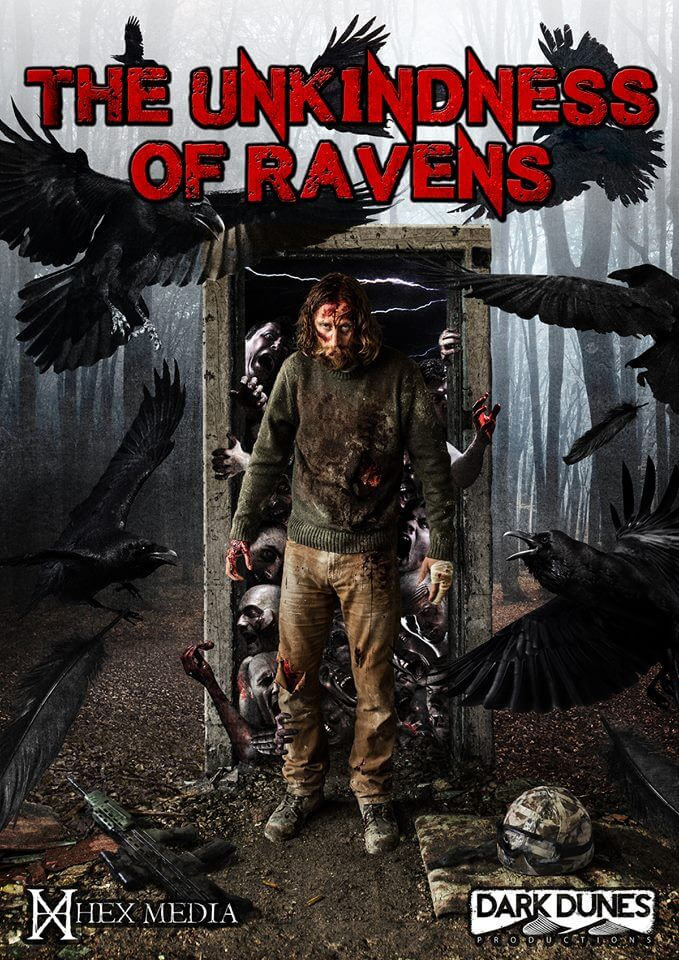 The Unkindness of Ravens Official Poster - The Unkindness of Ravens Now the Highest Funded British Horror Film in Kickstarter History