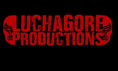 1 LGPDS - Luchagore Productions Receiving Fantastic Cinema Emerging Filmmakers Award
