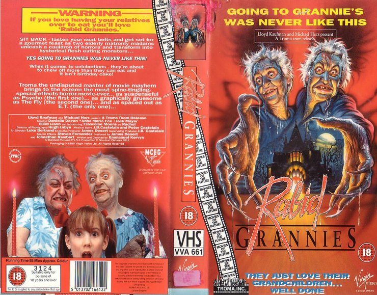 RABID GRANNIES - Mom Turns 25 This Mother's Day; Take a Look Back with Director Pat Rand