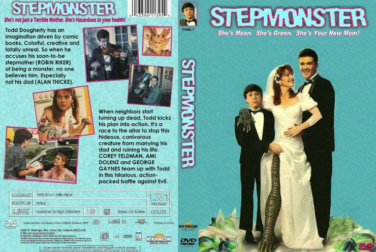 Stepmonster CustomDVDCover - Cult Film Legend Fred Olen Ray Talks the Birth of His Stepmonster