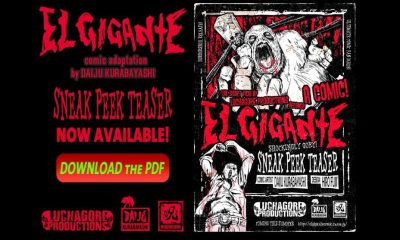 featured el gigante - Free Sneak Peek Download of Luchagore's El Gigante Comic Adaptation