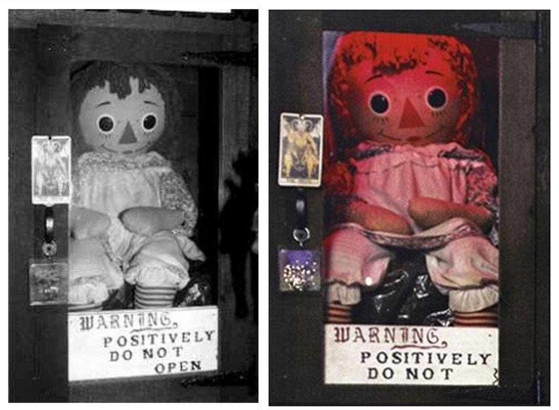 annabelle - The Warren Files: Exploring the Famous Real Life Cases of the Paranormal Investigators