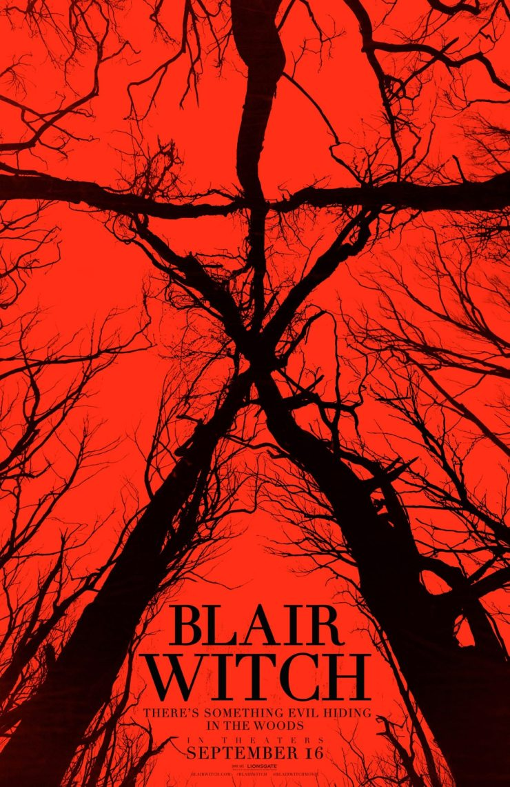 Blair Witch poster - #SDCC16: Blair Witch Premiere Coverage - WATCH THE Q&A NOW!