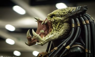 WolfPredator AlienPredator SDCC2016 01 - #SDCC16: Take a Tour of Sideshow's Booth with Freddy, Jason, Leatherface, Alien, Predator, and More!