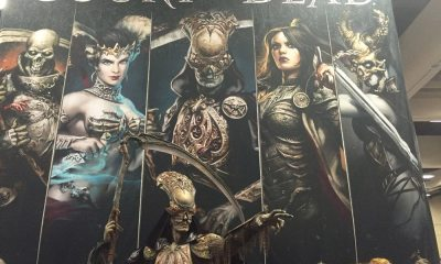 sdcc court dead 1 - #SDCC16: Sideshow's Court of the Dead Rules the Convention Floor
