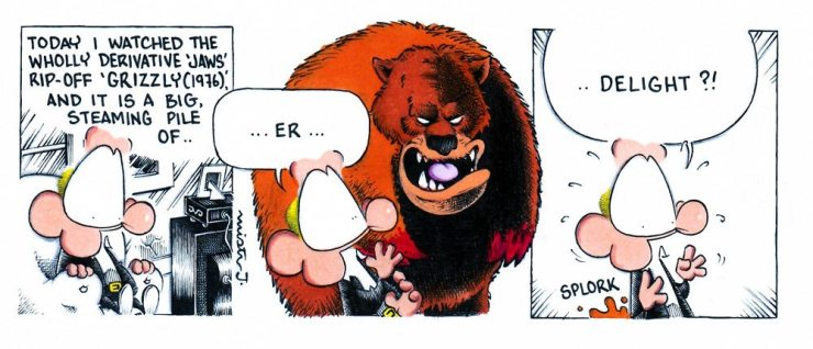 sense of dread grizzly - Mister J's Sense of Dread 8/12/16