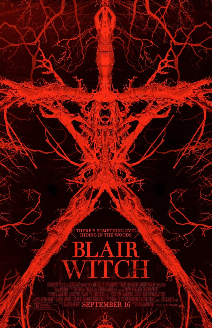 Blair Witch Art 2 - Blair Witch - A Summary of Easter Eggs and Nods
