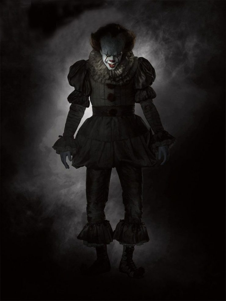 IT Pennywise final 768x1024 - Filming Wraps on New It Adaptation; Meet the Pennywise Jack-in-the-Box!