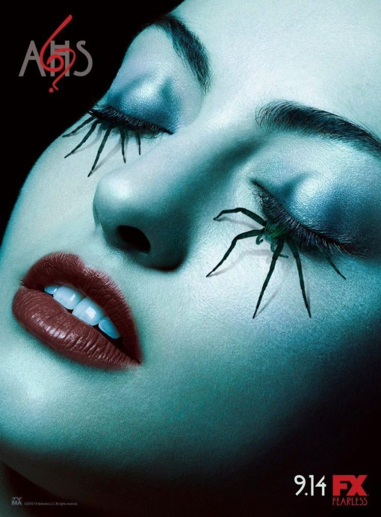 americanhorrorstorys6spiderposter 753x1024 - Theory: What If American Horror Story Season 6 Doesn't Have a Theme?