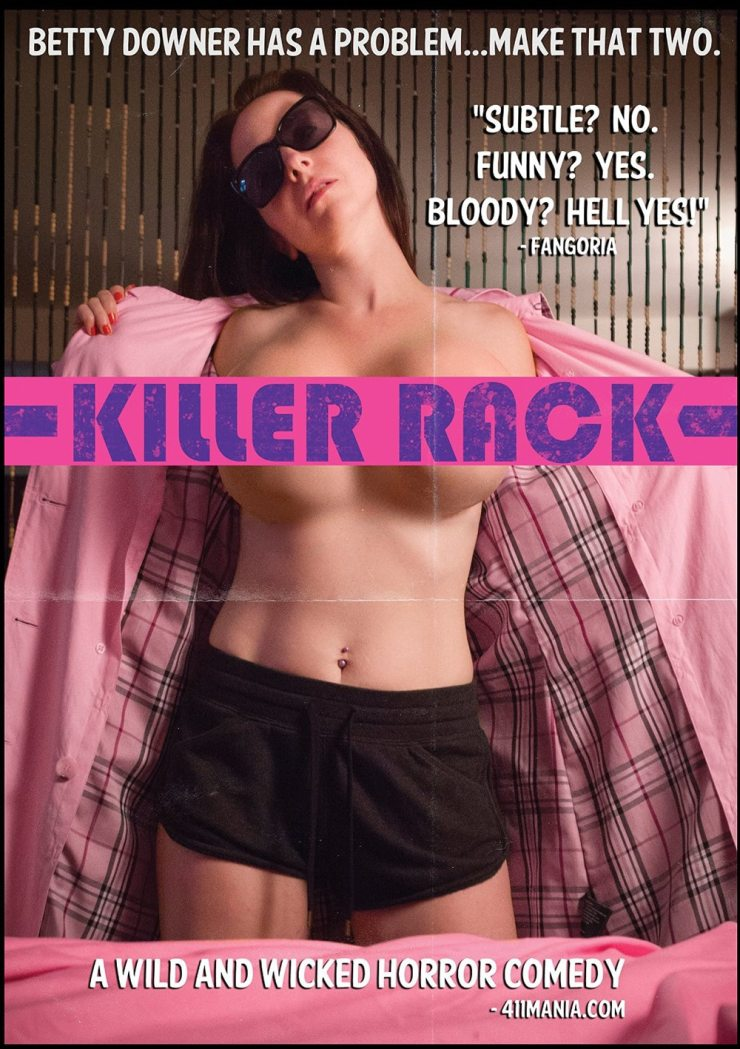 killerrack dvd - Camp Motion Pictures Releasing Killer Rack DVD and Slime City/Slime City Massacre Blu-ray in December